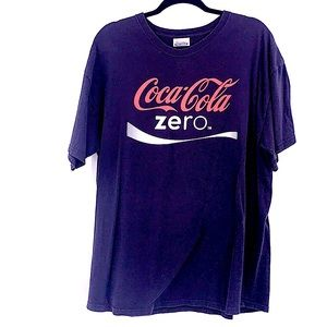 Vintage Coke Zero t shirt size XL